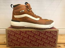 NEW VANS ULTRARANGE EXO HI MTE PUMPKIN SPICE SHOES FOR MEN