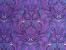 By 1/2 Yard Free Spirit Tula Pink Fabric True Colors Mini Owl Orchid Purple Pink
