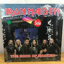 Iron Maiden The Book Of Wacken Open Air LP August 2016 Germany Colored Wax RARE