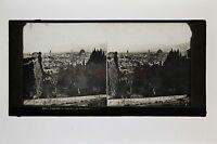Italia Firenze Florence Targa Stereo Ferrier Verso 1860
