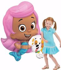 Bubble Guppies AirWalker Foil Molly Balloon Birthday Decoration Party Supply AWK
