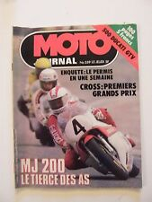 Moto Giornale Avril 1978 No.359 MJ 200 500 Ducati GTV Cross