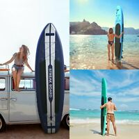 10'/11' Inflatable Non-slip Stand Up Paddle Board Portable All Levels SUP W/Bag