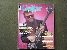 GUITAR PLAYER MAGAZINE - March 1986 zz Top Billy Gibbons Billy Sheehan