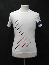 RAPHA Men's White Cotton Team Sky Rain The Game Changer Cycling T-Shirt XS