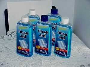 5 Dishwasher Rinse Aid Agent & Drying Agent Finishing Dry No spots 8.45 oz / USA