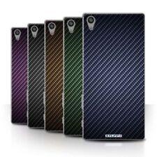 Étuis, housses et coques Sony Xperia Z5 en fibre de carbone pour téléphone mobile et assistant personnel (PDA)