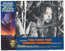 THE TOWN THAT DREADED SUNDOWN Movie POSTER 11x14 F Ben Johnson Andrew Prine Dawn