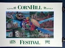 Corn Hill Arts Festival Rochester NY 1992 Poster Print Martha Leonard