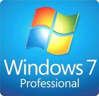 WINDOWS 7 PROFESSIONAL 32/64 BIT ISO DIGITAL DOWNLOAD (NO PRODUCT KEY)