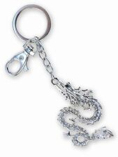 Puzzled Clear Dragon Sparkling Charm Key Chain NEW Keyring Jewelry
