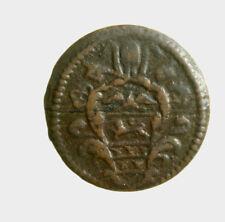 s802_1) GUBBIO - INNOCENZO XI 1676-1689 - QUATTRINO AN. IX