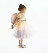 """My Little Angel"" Steve Hanks Limited Edition Fine Art Giclee Canvas"
