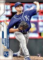 2020 Topps Update Gabe Speier Base RC #210 - Kansas City Royals