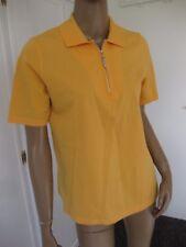 Peter Hahn schönes Shirt/Poloshirt  40 orange kurzarm