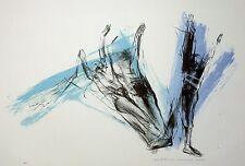 MECHTHILD MANSEL - Tanz - Fallen - Farblithografie 2001