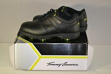 NEW Tommy Armour Men's Medalist Golf Shoes Cleats Black F206248 Size 8 NWT