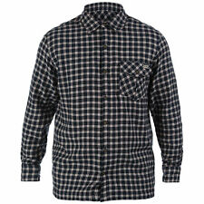 Long Sleeve Cotton Blend Check Casual Shirts & Tops for Men