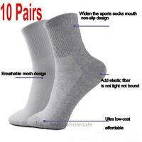 10 Pairs Men Winter Socks Thermal Casual Soft Cotton Sport Sock Gift 3 Color LOT