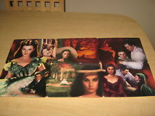 Gone With The Wind Dreams Remembered Bradford Exchange 6 Plates & Free Tin Sign