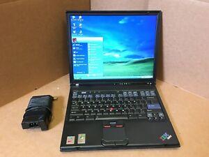 "IBM Thinkpad T43 LAPTOP 14""iN 1.86GHz 1Gb 40GB HDD WIFI DVD WINDOWS XP"