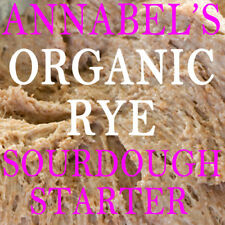 "ANNABEL'S ""ORGANIC RYE"" SOURDOUGH STARTER  BREAD 50gm"