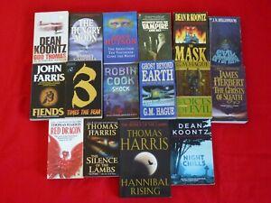 Horror Book Lot X 16