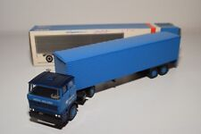 ± LION CAR DAF 2800 TRUCK WITH TRAILER MEEUS HOLLAND NEAR MINT BOXED