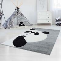 Kinderteppich Teppich Kinderzimmer Spiel-teppich Hochwertig Knuddel Panda-Bär
