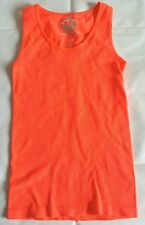 Florescent Orange Knit Tank Top Racerback Love & Charm One Size fits most