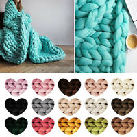Chunky DIY Wool Yarn Soft Bulky Arm Knitting Wool Sweater Scarf Hat Crocheting