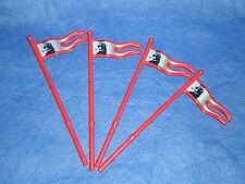 3699 Ritter Christopherus  4x rote Lanzen schwarzer Löwe top unbespielt