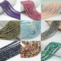 Wholesale Natural Gemstone Beads Faceted Beads Round Stone Beads 2mm 3mm 4mm
