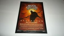 BLACK COUNTRY COMMUNION afterglow-framed original advert
