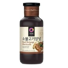 [Chungjungone] Korean BBQ Sauce Beef Bulgogi Marinade 500g for Meat 2.5kg MI KOR