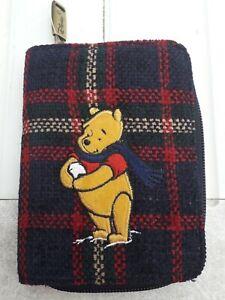 Disney Winnie The Pooh Tartan Pattern Purse
