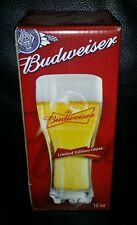 RARE COLLECTABLE 355ML BUDWEISER 2010 FIFA WORLD CUP BEER GLASS BRAND NEW IN BOX