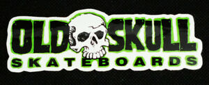 Old Skull Skateboards Promotional Logo Sticker