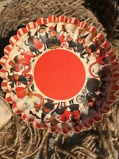 Vintage Halloween - Paperboard Serving Dish - Germany - 11