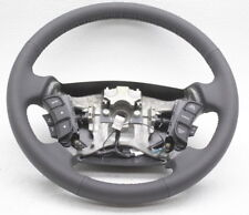 OEM Kia Rondo Steering Wheel 56110-1D732WK Dk Gray Leather w/Switches
