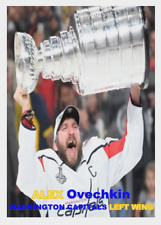 ALEX OVECHKIN 2018 THE STANLEY CUP 57 ACEO ART CARD 2017-18 WASHINGTON CAPITALS