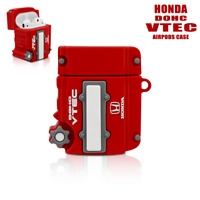 HONDA DOHC VTEC Engine Silicone Case Cover For Apple Airpods 1st 2nd Generation