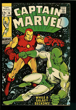 Captain Marvel #14 Iron Man - Marvel Comics Silver Age - Fine/Very Fine