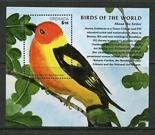 GRENADA 2015 BIRDS OF THE WORLD SOUVENIR SHEET MINT NEVER HINGED