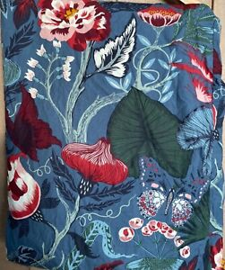 Ikea Filodendron Twin Butterfly Birds Duvet Tropical