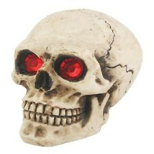 Red Eyes Skull.Universal Car Shift Knob for Stick Manual Shifter.Hot Rod Custom