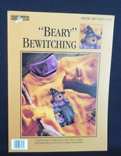 """Beary"" Bewitching Cross Stitch Pattern Bear Halloween Leisure Arts 83074 Spider"