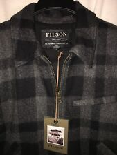 NEW WITH TAGS FILSON MADE IN USA MACKINAW WOOL JACKET L $395