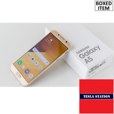 "SAMSUNG Galaxy A5 2017 , 32GB. 16MP. 5.2"" -Unlocked- Gold. BOXED. Excellent Item"