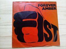 "Fist Forever Amber / Brain Damage EX PROMO 7"" Single Vinyl Record MCA 640 P/S"